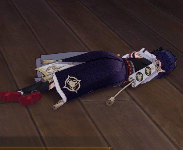 【原神まとめ】サラは心海の伝説任務で友情出演するぞ てか倒れてるシーンもよく見たら起きてて草